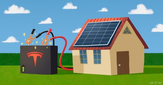 tesla baterias para el hogar